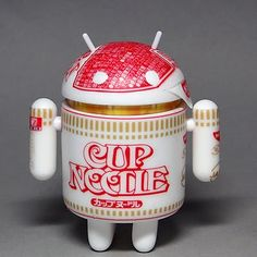 2011-3-26 Noodler  android mini collectible D.I.Y.BLANK  customized  ; bugdroid
