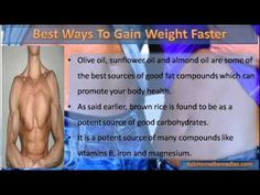 This video describe about the best ways to gain weight faster for thin and weak guys.