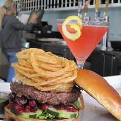 Yummy build your own burgers at The Counter in Newport Beach!