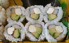Types of Sushi Rolls: Description with Photos: Crazy Boy Roll, photo Alaskan Rolls, Dragon Sushi, Kappa Maki. Pesto Shrimp, Shrimp Tempura, Spicy Shrimp, Sushi Types, Types Of Sushi Rolls, Salmon Roll, Baked Salmon, Dragon Sushi