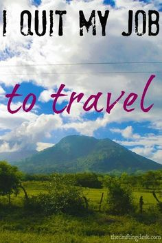 Ready for some inspiration? I Quit My Job To Travel - Dorene of TraveLifExperiences talks quitting her day job, meaningful travel & being location independent.