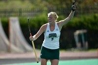 Ohio field hockey'sKENDALL BALLARD(Charlottesville, Va.) earned Longstreth/NFHCA Division I West All-Region second-team honors as announced by the National Field Hockey Coaches Association on Monday (Nov. 27).  The honor marks as Ballard's second all-region recognition, having earned second-team honors in her sophomore season in 2016.  Ballard led the 2017 squad in goals (8), total points (21) and shots (45) and would finish fifth in the Mid-American Conference in both shots and goals.