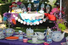 Mad hatter tea party birthday