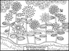 Another one of my FREE coloring pages! Please print, share & color!