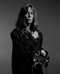 Patti Smith She makes me look forward of getting older.., awesome