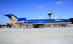 Wien Air Alaska VH-RMW Boeing 727