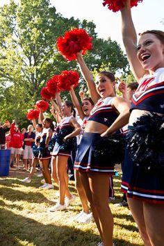 escape in bondage cheerleader College
