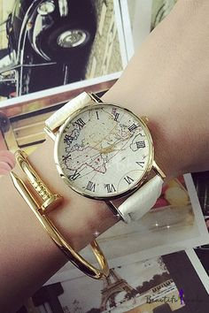 Wheretoget worlds map womens black watch my style popular world map womens watches gumiabroncs