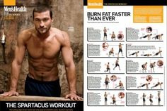 I've been doing the spartacus workout 1 to 2x a week and been getting faster results.