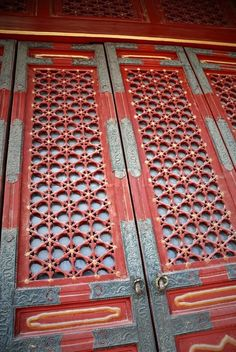 Stock image of 'Old traditional chinese gate in forbidden city'