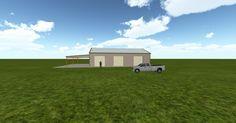 Cool 3D #marketing http://ift.tt/2wLYcCB #barn #workshop #greenhouse #garage #roofing #DIY