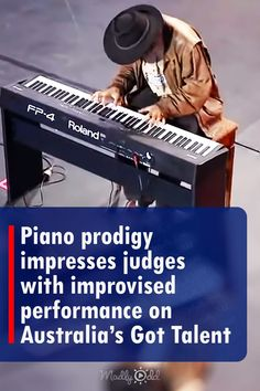A young farmhand named Chooka learned piano by himself during his free time. When he came on Australia's Got Talent the audience and judges seemed unsure of his skills. But when he started playing piano everyone was immediately convinced that he was a prodigy. #talentshow #piano #prodigy #music #gottalent Live Music, Good Music, Playing Piano, Talent Show, Musicals, Australia, Entertaining, Learning, Concert