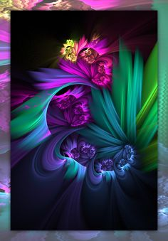 :iconmanapi: Lullabyby manapi Digital Art / Fractal manapi Apo :) Add a Comment: :iconfractalbeke: fractalbeke Jun Fractal Images, Fractal Art, Fractal Design, Illustration, Wow Art, Pretty Pictures, Wallpaper Backgrounds, Wallpapers, Rainbow Colors