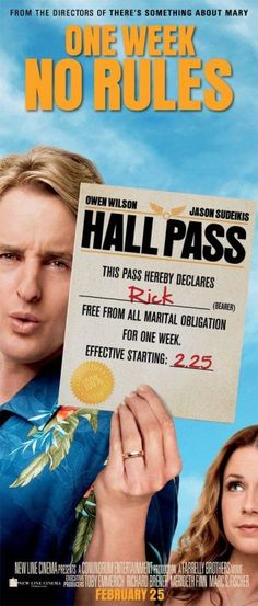 movie poster hall pass christina applegate - Google Search
