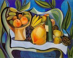 Natureza Morta Com Frutas, Di Cavalcanti gravuras e telas do pintor brasileiro di cavalcanti - Pesquisa Google