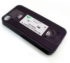 Rare VHS Tape Retro - iPhone 4 Case,