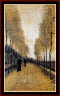 """vincentvangogh-art: """"Alley Bordered by Trees, 1884 Vincent van Gogh Buy Artwork by Vincent van Gogh """" Vincent Van Gogh, Van Gogh Paintings, Paintings I Love, Claude Monet, Rembrandt, Henri De Toulouse-lautrec, Van Gogh Arte, Artist Van Gogh, Art Beauté"""