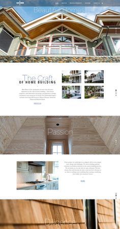 Fully responsive WordPress website for luxury artisans Blue Moon Home Builders Blue Moon, Home Builders, Over The Years, Home Crafts, Building A House, Wordpress, Cabin, Website, Luxury