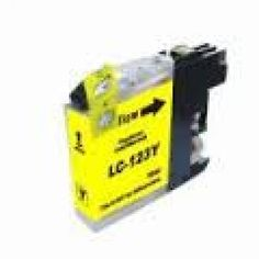 Compatible Yellow Brother LC123Y Ink Cartridge