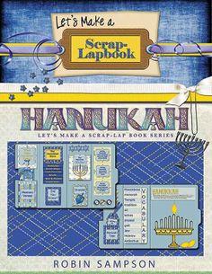 Hanukkah Scrap Lapbook Instant Download by DigiScrapDelights, $15.00