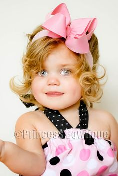 Precious Pink  Baby Infant Toddler Headband