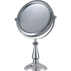 E-Ware Cosmetic Makeup Clock and Mirror - 9K007A1