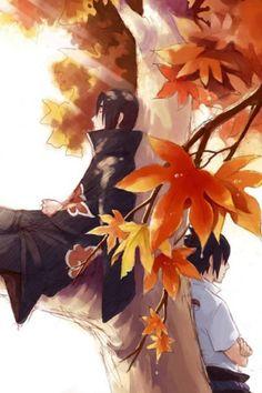 Itatchi and Sasuke Uchiha <3