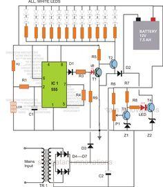 Cell Phone Detector Circuit Circuit diagram, Circuits