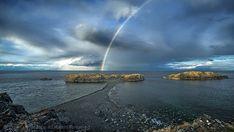 Don't use a polarizer when shooting rainbows