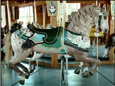 Carousel horses – dapple grey | All About Cocoa