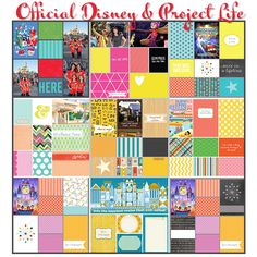 Official Disney and Project Life Supplies Working Together to Document Disney Memories
