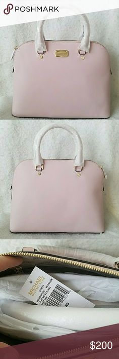Michael Kors Large Cindy Satchel -PRICE FIRM.  -NO TRADES.  -New with tags.  -Color is  Blossom.  -Gold-tone hardware.  -No dust bag. Michael Kors Bags Satchels