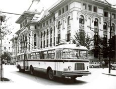 1955 RATB - Regia Autonoma de Transport Bucuresti Socialist State, Socialism, Warsaw Pact, Central And Eastern Europe, Bucharest Romania, Hessa, Old City, Public Transport, Tourism