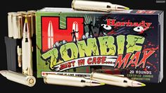 Zombie Bullets! ...seriously.