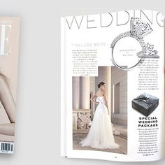 Giuseppe Papini dreamy and romantic gown featured in the Fall/Winter issue of Elle Korea