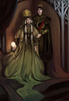 Alina & Darkling by TealDeal