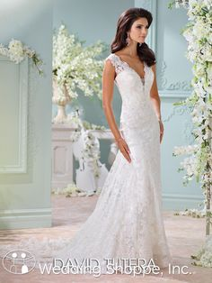 David Tutera for Mon Cheri Bridal Gown Dayton / 116204