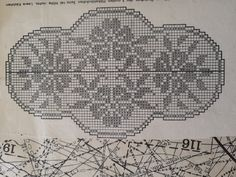 Filet Crochet Charts, Doilies, Cross Stitch Embroidery, Towels, Cross Stitch, Crocheting