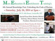 """Prof. Kaba Kamene (aka Booker T. Coleman) of """"Hidden Colors 3"""""""
