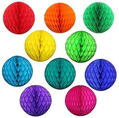 10 Pack Assorted Color 8 Inch Honeycomb Tissue Paper Part... https://www.amazon.com/dp/B01NAY4J5A/ref=cm_sw_r_pi_dp_x_7KuJyb6M94370