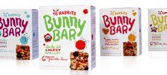 18 Rabbits Granola and Bars | Strohl—Brand Identity, Packaging & Trademark Design