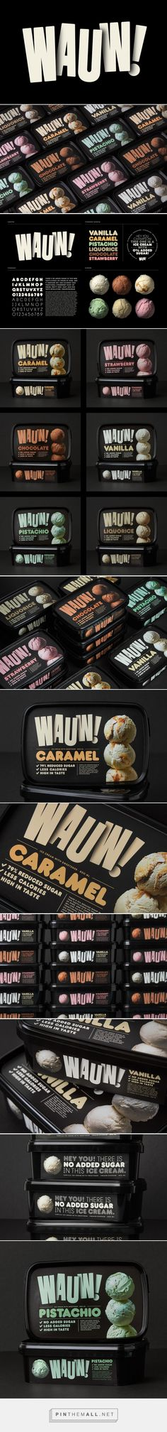 Wauw! Ice cream packaging design by SNASK - http://www.packagingoftheworld.com/2017/03/wauw.html
