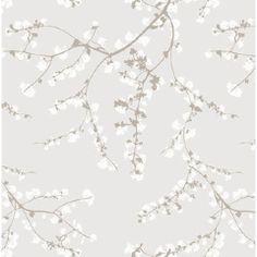 Tapet Cafe Wallpaper - Spring Branches 392022 - Nordic Blossom | Removable Wallpaper Australia