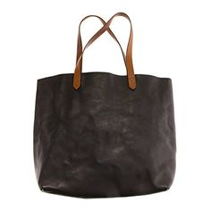 the leather transport tote
