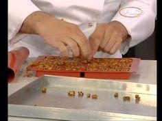 Video ricetta barrette croccanti di cioccolato ai cereali - YouTube