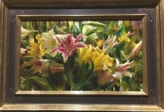 """""""Mixed Lilies"""" x oil ©Daniel J. Keys 2016 ©This image is under strict copyright to the artist and may not be reproduced in any form Daniel Keys, Daniel J, Keys Art, Floral Paintings, Southwest Art, Painted Flowers, American Artists, How To Introduce Yourself, Pastels"""