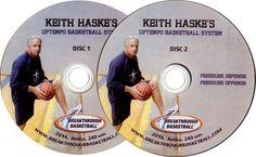 (Rental)-KEITH HASKE'S UPTEMPO BASKETBALL SYSTEM