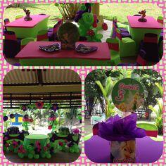 Tinkerbell garden party!