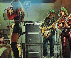 Shocking Blue with Leo van de Ketterij (r) Uk Music, Music Icon, Rock N Roll Music, Rock And Roll, Mariska Veres, 70s Rock Bands, Shocking Blue, Heavy Rock, Women In Music