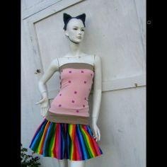 nyan cat dress